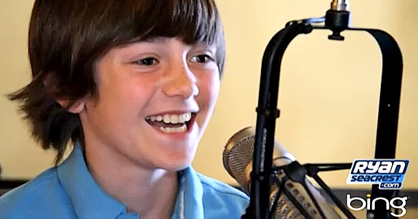 Greyson Chance's First Radio Interview!