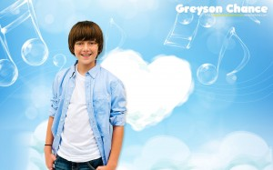 Beautiful Wallpaper of Greyson Chance.